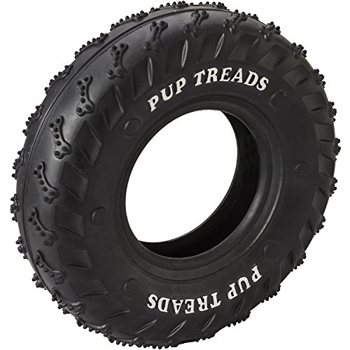 Ethical Pets 54336 Pup Treads Rubber Tire Pet Toys (Pup Treads Rubber)