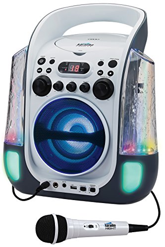 JENKN275 - Karaoke Night KN275 CD+G Karaoke Machine with Dancing Water LED Light Show by Karaoke Night (Image #4)