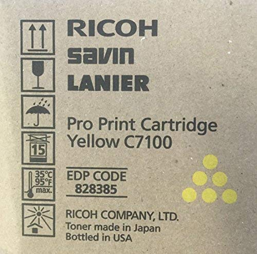 Ricoh 828385 Yellow Toner Cartridge