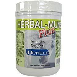 Uckele Herbal-Mune Plus Horse Supplement, 2-Pound