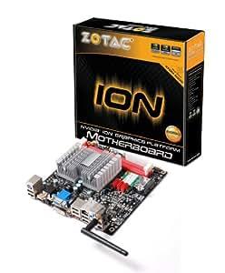 Zotac ION ITX D - Placa base (Intel, NA (CPU integrada), Mini iTX, WLAN, Gigabit Ethernet, 0, 1, 0+1, Windows Vista)