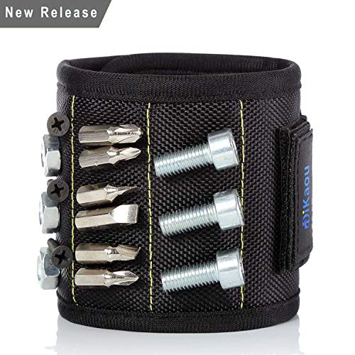 Magnetic Wristband with 20 Strong Magnets for H...