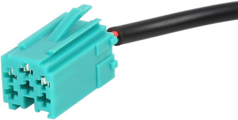 X AUTOHAUX 3.5mm Car AUX Input Adaptor Cable Lead for Renault Clio Megane Laguna