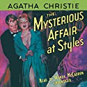The Mysterious Affair at Styles Audiobook by Agatha Christie Narrated by Wanda McCaddon