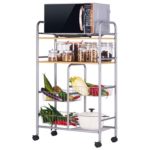 OLLTT Estante de Almacenamiento de Cocina Organizador Soporte de ...
