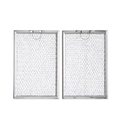 Grease Filter WB06X10309 Replacement For Many GE Microwaves - 2 Pack (Range Hood Grease Filter)