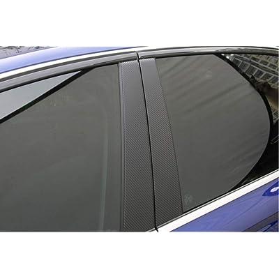 LEXLEY For Honda 2006-2021 CRV CR-V Carbon Fiber Style Leather ...