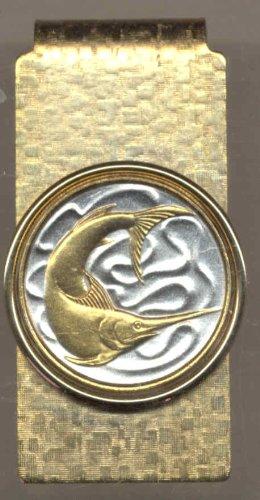 2 De Singapur tonos De Moneda Pez Clips Plata Espada Oro Dinero Precioso 5qTxvwAv