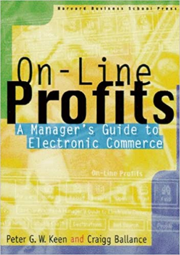 Book On-line Profits: A Manager's Guide to Electronic Commerce