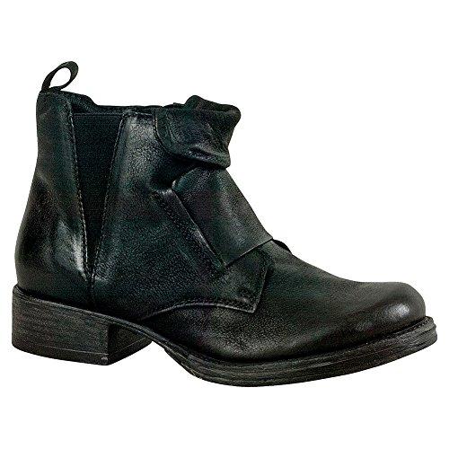 Ankle Miz Nicholas Boot Black Women's Mooz wAqYFqaR