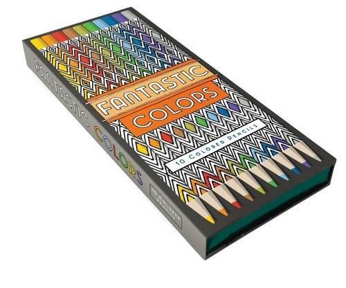 Fantastic Colors Pencils 10 Colored Cities Amazoncouk Steve McDonald 9781452159096 Books