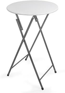 Mesa alta de bar plegable y robusta: Amazon.es: Bricolaje y ...