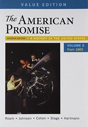 American Promise,Value Ed.,V.2 W/Access