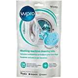 Wpro Power Fresh Washing Machine Cleaner Tablets Odour Mould Mildrew Remover, Pack Of 3