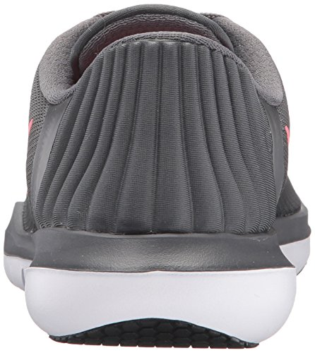 NIKE Womens Flex Supreme TR 5 Wide Shoes Grey HOT Punch White Black Size 8 by NIKE (Image #2)