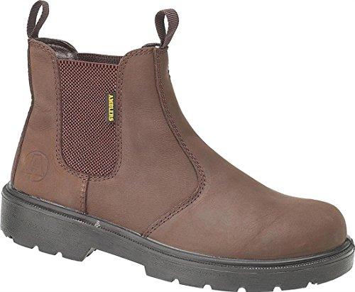 Amblers Steel Herren-Slip On FS128 Herren Leder Schuhe Stiefel Schuhe