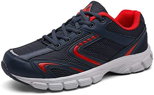 Mishansha Mens Athletic Running Shoes Non Slip Gym Trail Walking Jogging Fashion Sneakers
