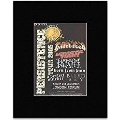 PERSISTENCE TOUR 2005 - Hatebreed Agnostic Front Napalm Death Mini Poster - 13.5x10cm