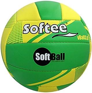 Softee Equipment 0001740Ballon Softball, Blanc, S