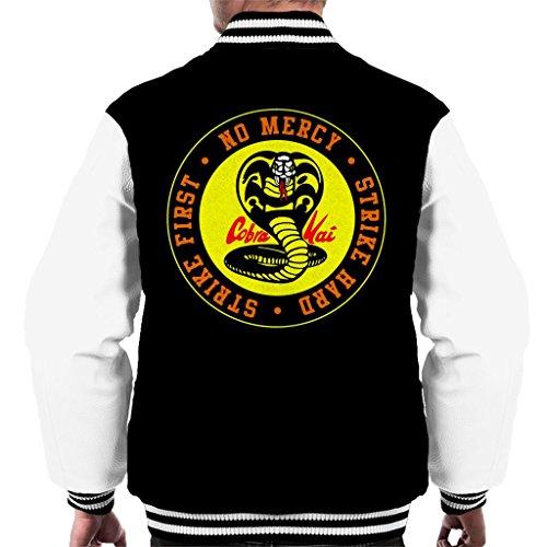 Logo Cobra Mercy Snake Varsity Black No Jacket Kai white Men's BPAPxqSEw