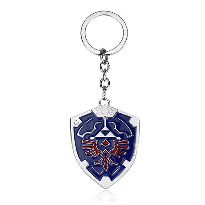 Amazon.com: DeltaHalo Llavero con diseño de escudo de la ...
