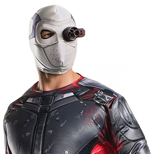 [Deadshot Mask Adult Suicide Squad Halloween Costume Fancy Dress] (Halloween Costume Ideas 2016 Men)