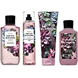 Bath and Body Works Cactus Blossom Deluxe Gift Set Body Lotion - Body Cream - Fragrance Mist and Shower Gel - Full Size