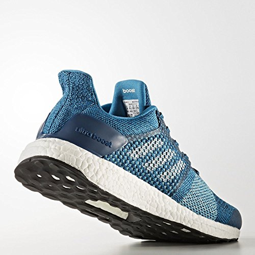 adidas Ultraboost St M, Chaussures de Running Entrainement Homme Türkis (Mystery Petrol F17/Ftwr White/Blue Night F17)