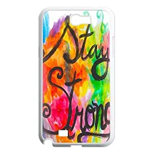 Stay Strong Unique Design Cover Case for Samsung Galaxy Note 2 N7100,custom case cover ygtg608067