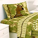 Scooby-Doo Jungle Safari - 3pc Bedding Sheets Set - Scoobydoo Twin Single Size