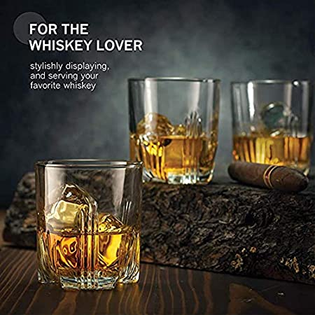 Juego De Decantador De Vidrio De Primera Calidad, Juego De Decantador De Whisky, 4 Vasos De Licor, Regalo Para Hombre Para Ron, Escocés, Whisky, Juego De Beber Decantador De Licor De Cristal