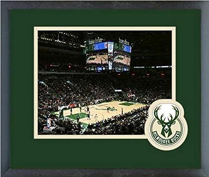 Amazon com: Fiserv Forum Milwaukee Bucks 2018-2019 NBA Stadium Photo