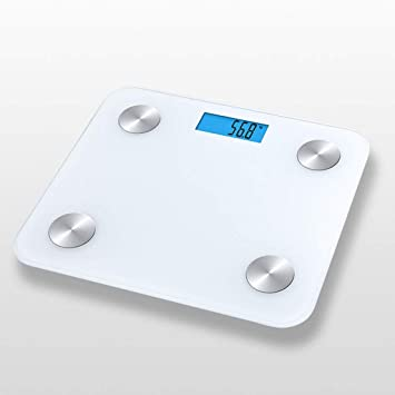 Amazon.com: Báscula de peso corporal, Bluetooth, báscula ...