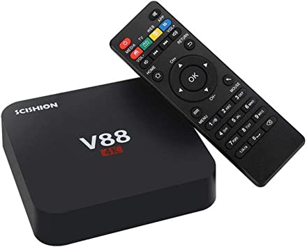 HCDMRE V88 4K Android 7,1 Smart TV Box Rockchip 3229 Quad Core 1G RAM 8GB ROM HD 1080P WiFi Media: Amazon.es: Hogar