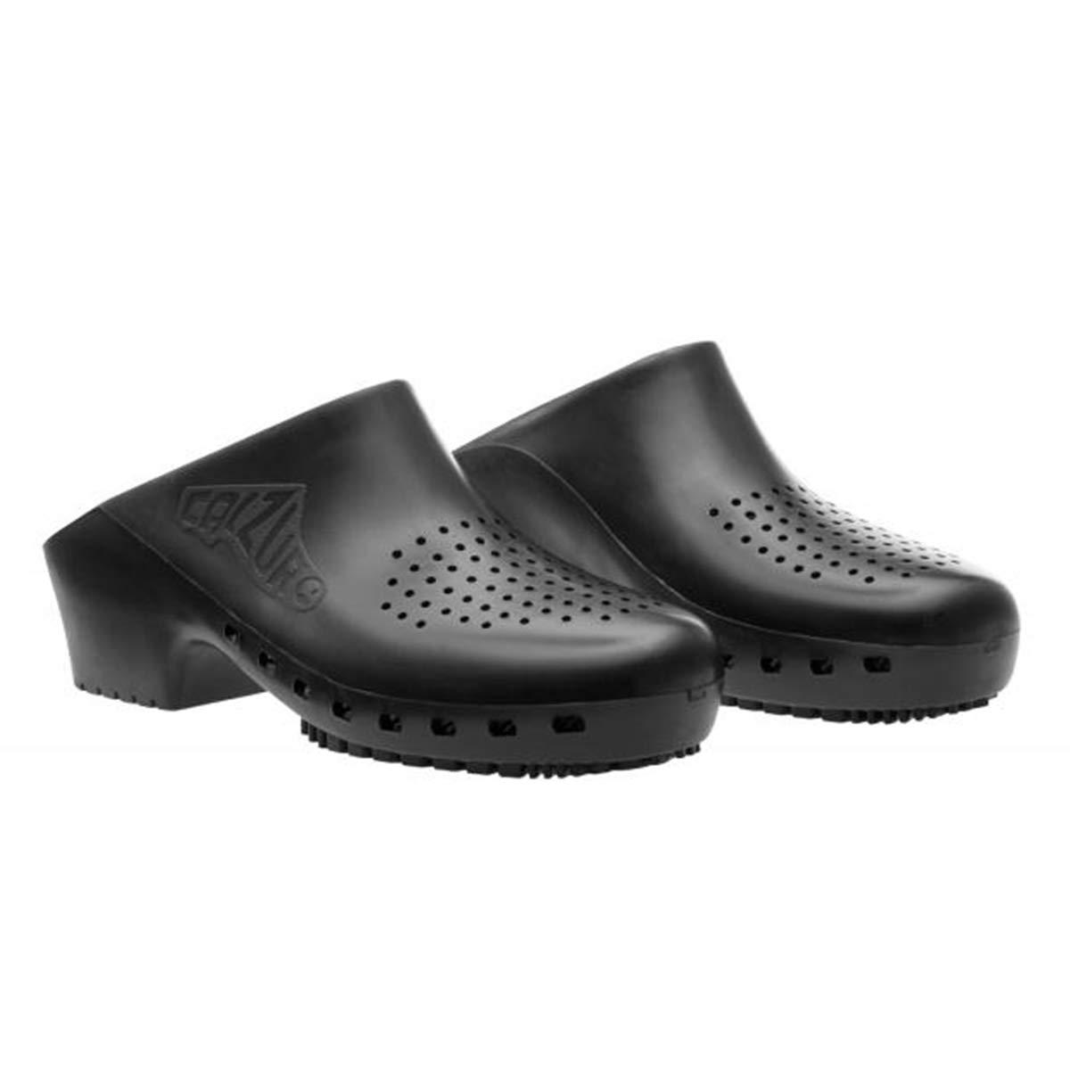 Cascos sanitarios calzuro S Classic con orificios profesionales CE 42-43 azul claro