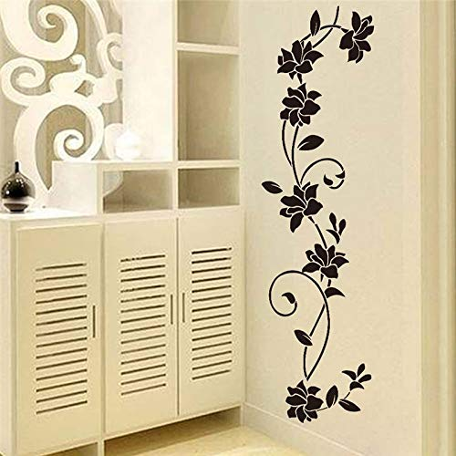 Best Choise Product Flower Vine Decorative Wall Stickers Refrigerator Vinyl Window Cupboard Home Decorations DIY Living Room Decals Art Mural Poster