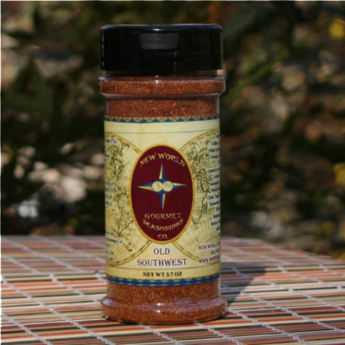 Old Southwest Seasoning 8oz bottle (Net Wt 3.7 oz). By not adding salt or sugar to this blend you get only the Herbs and spices you should expect. Use in a Marinade for Grilling or Saute', Use with Seafood, Beef, (Chicken Spice Blend)