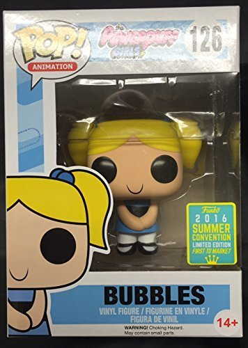 FUNKO POP EXCLUSIVE: Bubbles- From The Powerpuff Girls - Exclusive Bubble
