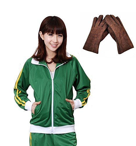F&C Vocaloid Gakupo Russian Matryoshka Jacket Hoodie Coat Cosplay Costune (XX-Large, Green) (Sexy Costunes)