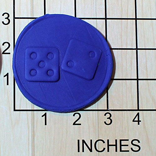 - Dice Fondant Cookie Cutter AND Stamp #1614