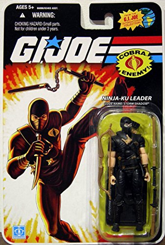 Ninja-Ku Leader GI Joe 25th Anniversary Action (Vintage Gi Joe Accessories)