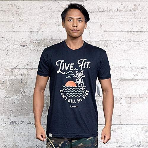 リブフィット livefit Tシャツ メンズ 半袖 筋トレ トレーニング フィットネスウエア ジムウエア 正規輸入品 LV-M16070-784