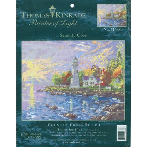 Textiles Kinkade Serenity Counted 10 Inch