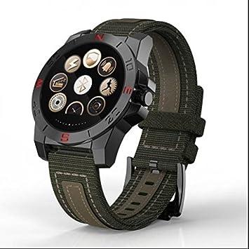 Smart fitness reloj deportivo, HD IPS LCD redondo función de pantalla, calendario GPS reloj inteligente rastreador, ...