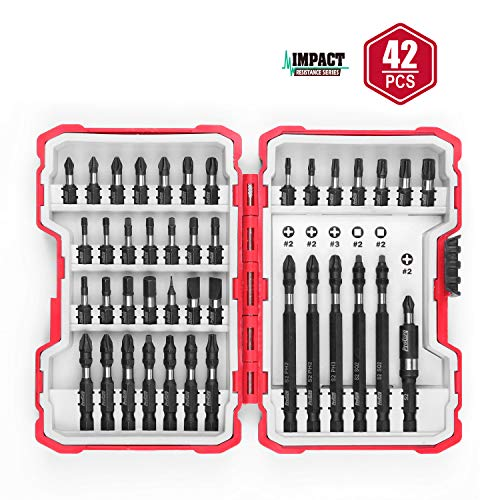 Protorq Impact Driving Accessory Set, 42-Piece,Industrial Strength, 1/4 Hex Shank