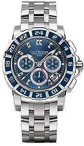 Carl F. Bucherer Patravi TravelGraph GMT Chrono Men's Watch 00.10618.13.53.21
