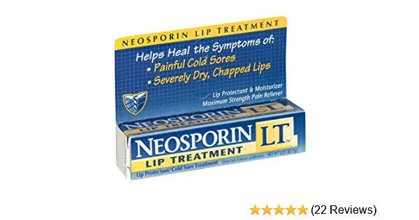 Is neosporin good for chapped lips