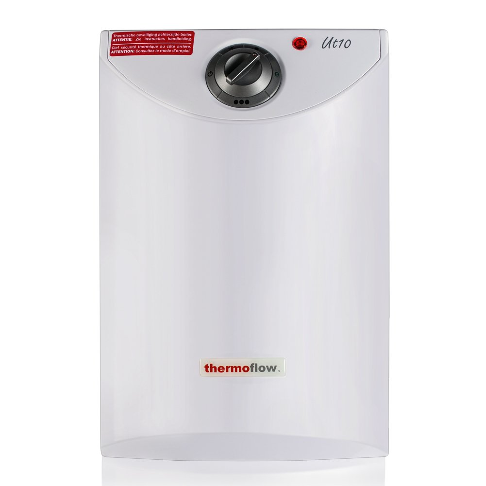 Thermoflow UT10 2.6-Gallons Electric Mini-Tank Water Heater for Under Sinks, 1.5kW at 120 Volts by Thermoflow