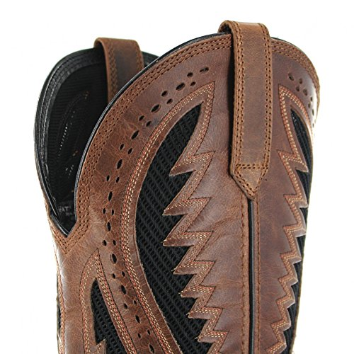 Fashion Fashion Uomo Caramel Western FB Stivali Brwon Boots xTCZq0wnR