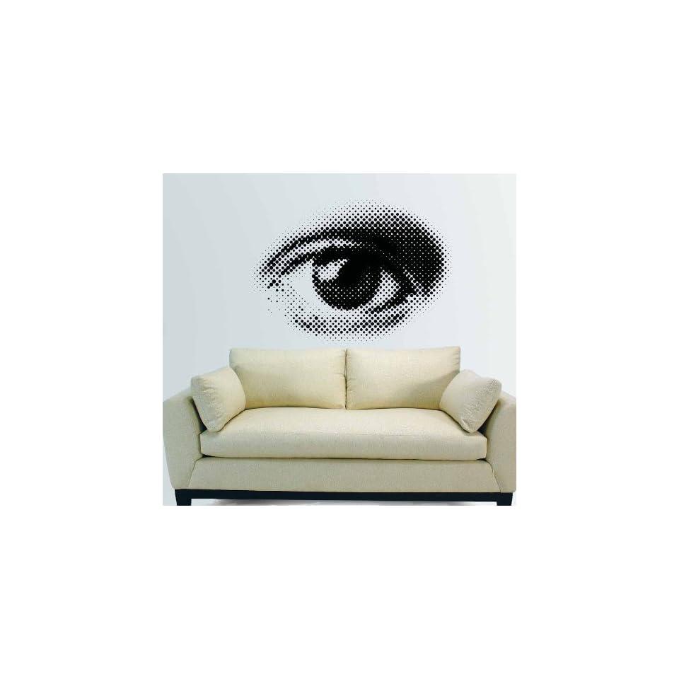 EYE Eye Wall Art Decor Mural Vinyl Decal Sticker 27 W